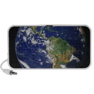 Full Earth showing the western hemisphere Portable Speakers