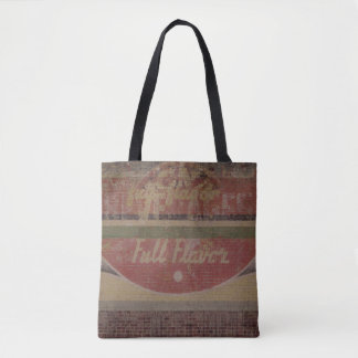 """Full Flavor"" Ghost Sign Tote Bag"