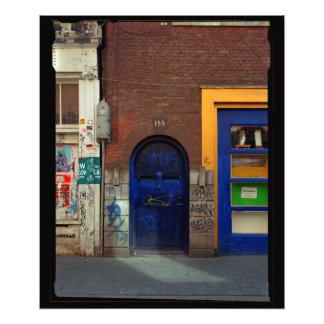 Full Frame 4x5 - Revolution Door Photo Print