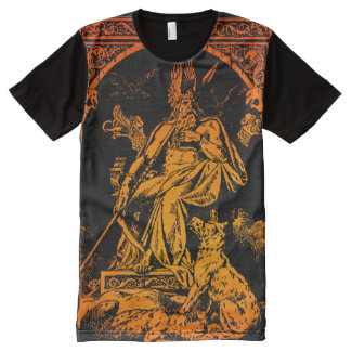 FULL FRONT ODIN ART SHIRT All-Over PRINT T-Shirt