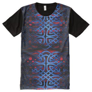FULL FRONT VIKING BLUE KNOT SHIRT All-Over PRINT T-Shirt
