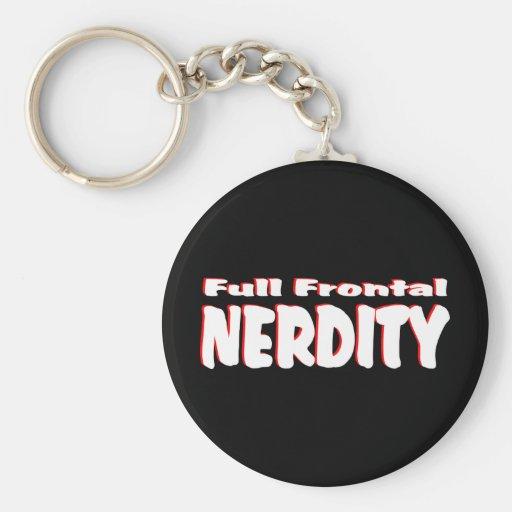 Full Frontal Nerdity #2 Keychains