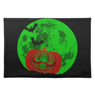 Full Halloween Moon Placemat