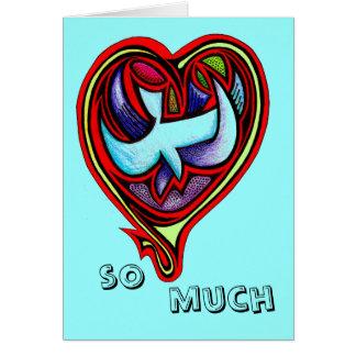 FULL HEART LOVE CARD