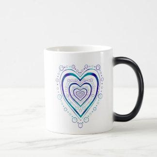 Full Heart Morphing Mug