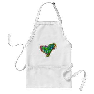 Full heart standard apron