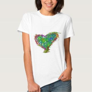Full heart tee shirts