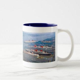 Full House Two-Tone Coffee Mug