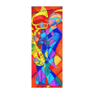 Full Jazz Canvas Print