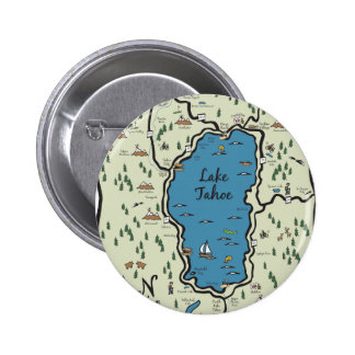 Full Lake Tahoe Area Map Buttons