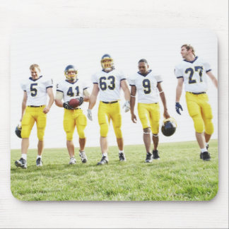 Full length portrait of rugby team mouse pad