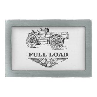 full load truck go belt buckle