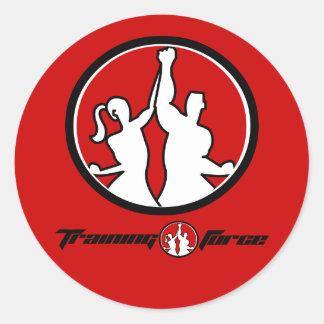 Full _LOGO, circle_logo Round Sticker