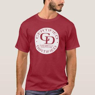 Full logo flipped white for Gents T-Shirt