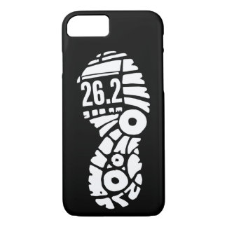 Full marathon 26.2 runner shoe phone case