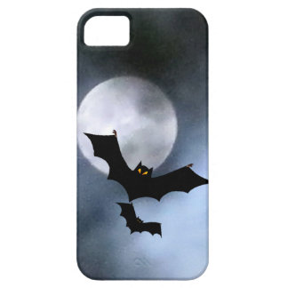 Full Moon and Bats iPhone 5 Casemate iPhone 5 Covers