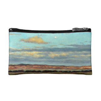 Full Moon at Dusk in the Mountains Cosmetic Bag