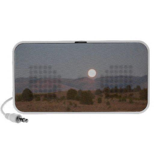 Full Moon at Twilight iPhone Speaker