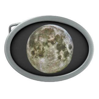 Full Moon Belt Buckle