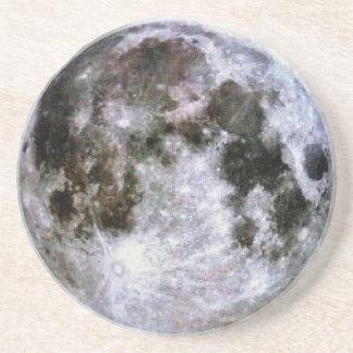 Full Moon Beverage Coaster
