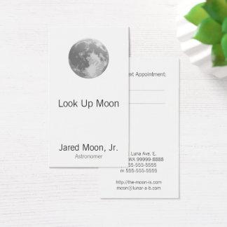 Full Moon Business Card