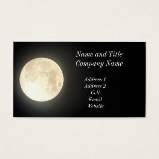 Full Moon Business/Profile Card