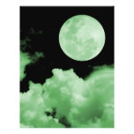 FULL MOON CLOUDS GREEN FULL COLOUR FLYER