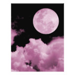 FULL MOON CLOUDS PINK FLYERS