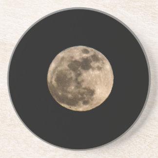 Full Moon Coaster Drink Coaster