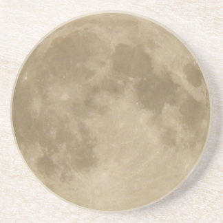 Full Moon Coaster with Craters