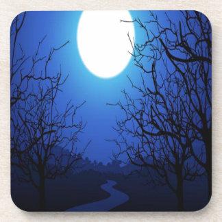 Full Moon Beverage Coasters