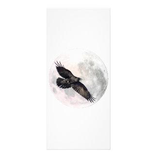 Full Moon Crow Rack Cards
