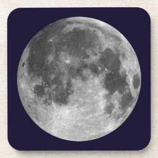 Full moon customizable products coaster