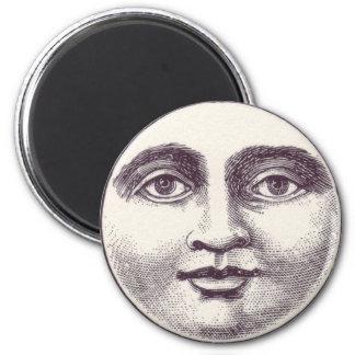 Full Moon Face Magnet