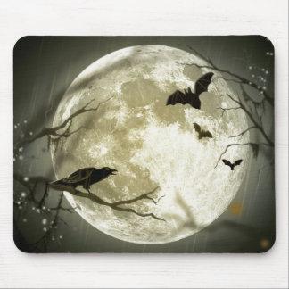 Full Moon Halloween Mousepad