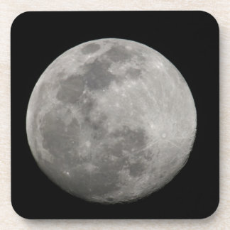 Full moon in black and white. Credit as: Arthur Coaster