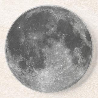 Full Moon in HD Beverage Coaster