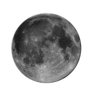 Full Moon in HD Plate