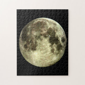 Full Moon Jigsaw Puzzle. Jigsaw Puzzle