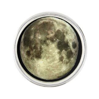 Full Moon Lapel Lapel Pin