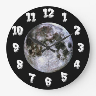 Full Moon Large Clock