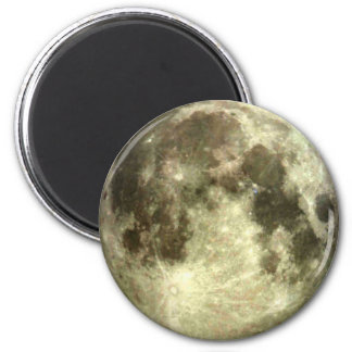 Full Moon Magnet 2 Inch Round Magnet
