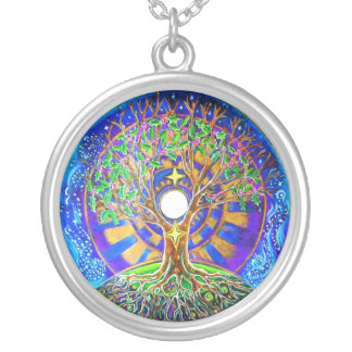 Full Moon Mandala Necklace