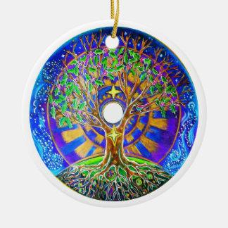 Full Moon Mandala Ornament