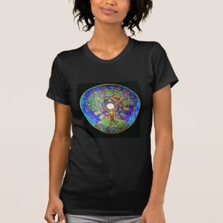 Full Moon Mandala T Shirt