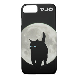 Full Moon Ninja Cat iPhone 7 Case