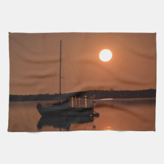 Full Moon of November 2016 Tea Towel