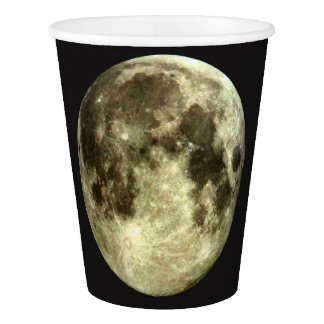 Full Moon Paper Cup