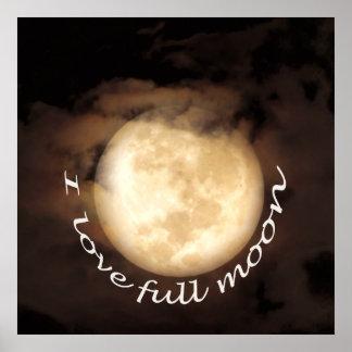 Full moon party in Koh Phangan Poster