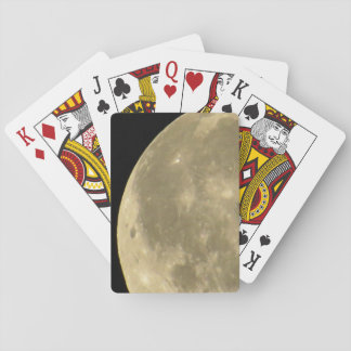 Full Moon Photo Playing Cards